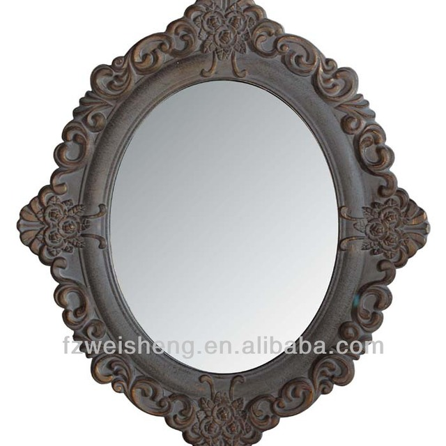 Decorative Oval Mirror/Ornate Oval Framed Mirror