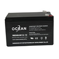 2017 high quality 12v 12ah battery lead acid battery
