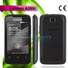lenovo a269i dual sim card original android 2.3 qwerty slide wifi dual sim best quality