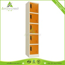 Chinese 18 years manufacture wholesale price best quality school furniture 5 door cabinet steel cupboard locker