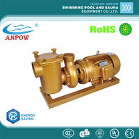 ANPOW china big factory wholesale top quality cooper BP Series swimming pool electric 7.5hp high presure water pump