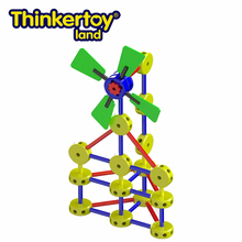 Thinkertoy Land Outdoor Child Games Toys Educational Equipment Windmill
