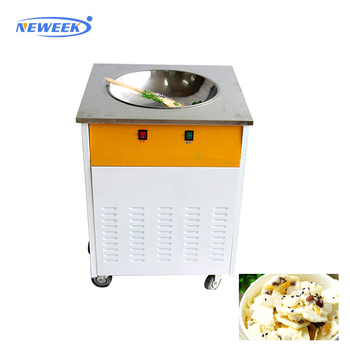 NEWEEK commercial mobile food cart with frozen yogurt machine prices