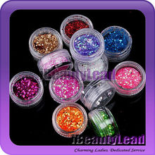 dazzling glitter power nail art glitter powder