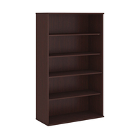 Library and home furniture mango wood bookcase