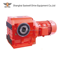 K Series Helical Bevel transmission gear reducer Professional Manufacturer of k series helical speed reducer 1:50 bevel helical
