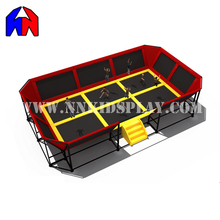 High Quality Create Fun cheap bungee jumping trampoline Trampoline With GS Certification