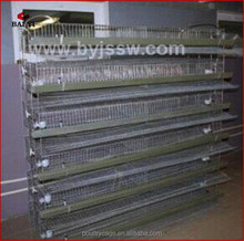 Latest Design Automatic Metal Wire Quail Putting Cage(H & A type,wholesale,good quality,Made in China)