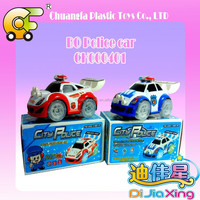 BO bump & go police car with music & light 2 model 2 colors