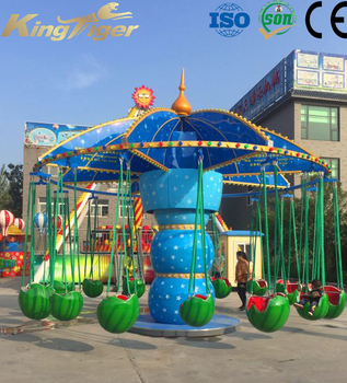 Amusement park watermelon flying chair for kids