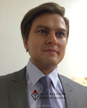 Customed Vivid Lifesize Wax Figure of Leonardo DiCaprio Waxworks