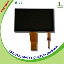 New products 2015 technology 7-inch tft lcd 50 pin touch screen module