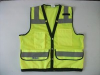 Wholesale hi vis workwear 3m reflective safety jacket for men