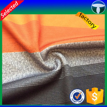 140gsm 75D polyester colorful stripe jersey fabric