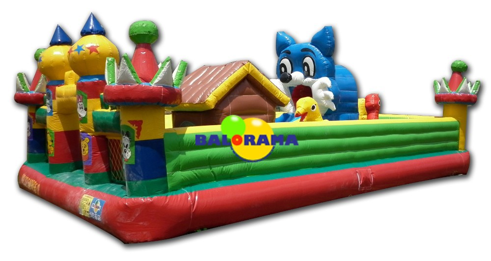 inflatable cat playground, medium-sized playground, commercial inflatable
