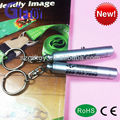 Hotsale cheap metal material mini led torch keychain