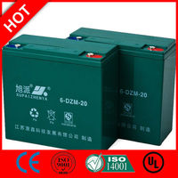 Deep cycle gel battery 12v 70ah electric toy bike CE ISO QS
