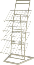 retail 4-tier floor carpet display rack