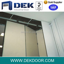 Security industrial folding and sliding door
