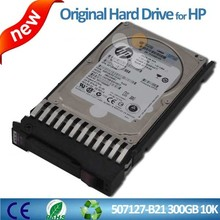 300G HDD 507127-B21 507284-001 6G SAS 10K rpm SFF (2.5-inch) Dual Port Enterprise Server Hard Drive For HP