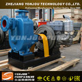 Horizontal single stage self priming centrifugal diesel engine water pump