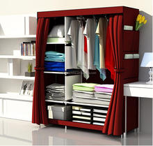 Bedroom Wardrobe Closet Styles Foldable DIY non woven fabric portable wardrobe