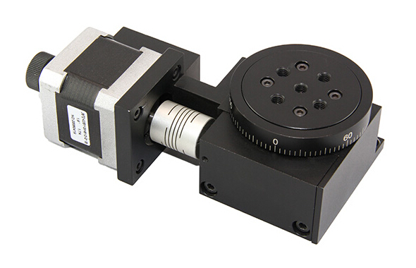 Lsdh Ws Series Worm Gear Motorized Rotary Stage View