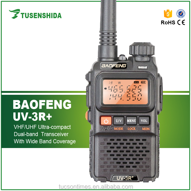 Baofeng dual band 2 way radio wholesale baofeng UV3R+ in balck