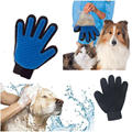 Hot Sale Pet Grooming Dogs Cats Bath Silicone True Touch Washing Gloves Dog Brush Pet Cleaning Glove