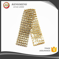 Gold Plated Chain For Shoe Accessory