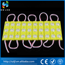 DC12V 1.5W Plastic 3 pcs SMD5730 Injection LED Module with Optical Lens for Channel Letter