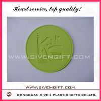3D pvc cup coaster/car mat