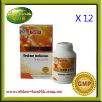 12 x Soybean isoflavones softgels, anti aging