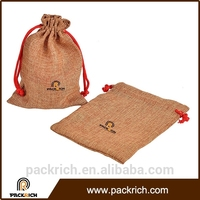 Most Popular foldable eco-friendly jute coffee bean bags for packaging