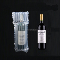 Competitive price cushion protective air bubble cushion packaging bags for wine bottle