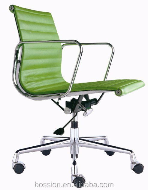 Modern design replica emes classic green leather office chair
