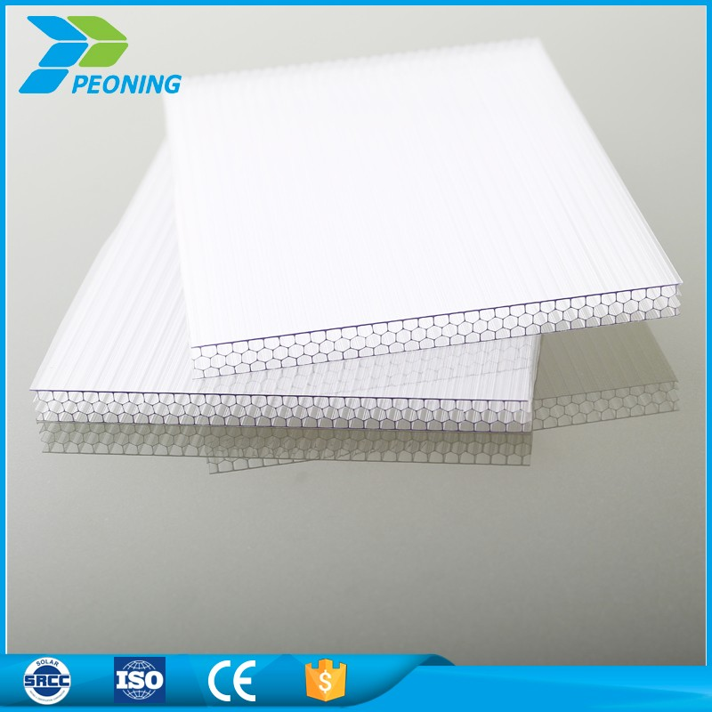 High quality white polycarbonate plastic sheets for greenhouse