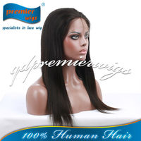 hot sale top quality Brazilian virgin hair yaki full lace wigs in stock, accept escrow