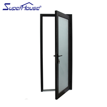 China window factory custom doors and windows with frosted glass interior swing aluminum doors
