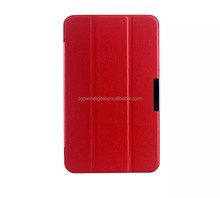 2014 Fashion Design Stand Leather Tablet Case For Asus Memo Pad 7 ME176