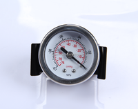 Accurate Mini Stainless Steel Gauge 30mm Bourdon Tube Pressure Gauge Manometer