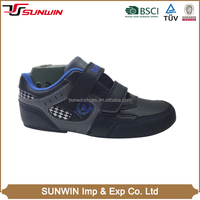 Wholesale attractive good quality buckle strap footwear upper design