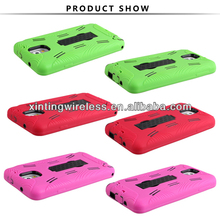 3 in 1 Cover PC Silicone Case For Samsung Galaxy Note 3