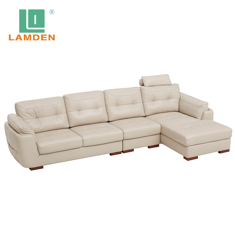 C2223 Lifestyle Modern design living room furniture comfortable genuine leather <strong>sofa</strong>