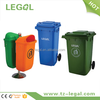 plastic recycle bin household waste bin advertising trash bin with high quality