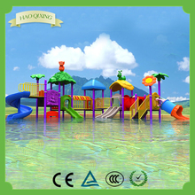 High quality plastic children's water park equipment Swimming pool Water slide facilities