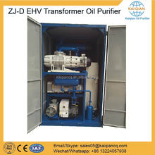 Double Stage UHV Transformer Oil Purification in Power Plant