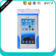 "Customized PVC Waterproof Plastic Bag for Mobile Cell Phone with IPX8 Certificated (up to 6"" inch)"