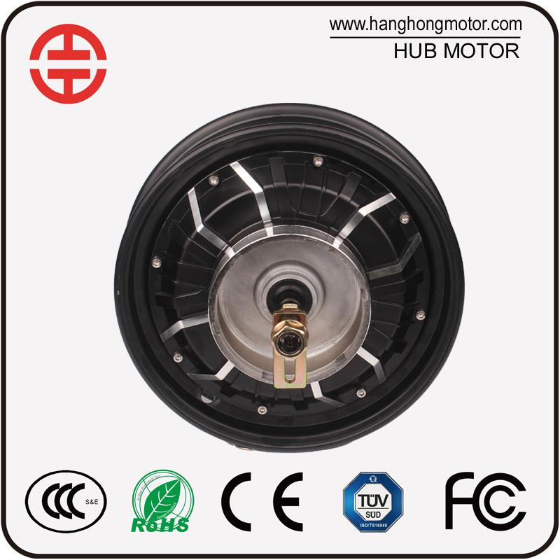 2000W high speed electric motorcycle hub motor