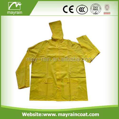 Adult PVC raincoat rainsuit